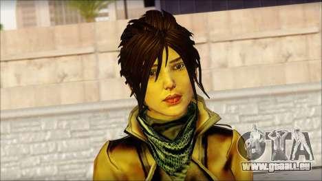 Tomb Raider Skin 2 2013 pour GTA San Andreas troisième écran