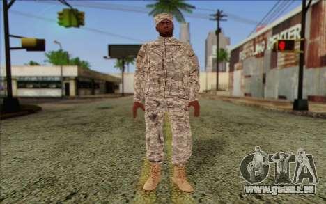 California National Guard Skin 5 pour GTA San Andreas