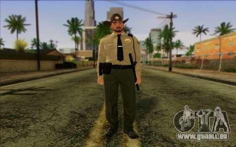 Police (GTA 5) de la Peau 1 pour GTA San Andreas