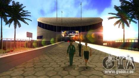 Textures HD stadium de Las Venturas pour GTA San Andreas quatrième écran