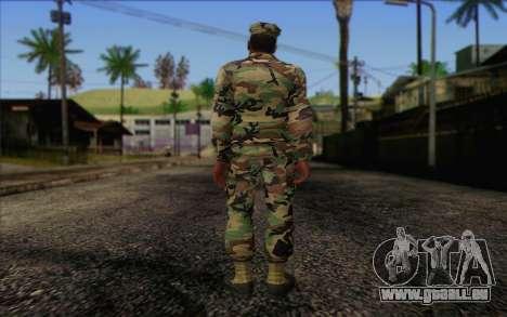 California National Guard Skin 3 pour GTA San Andreas deuxième écran