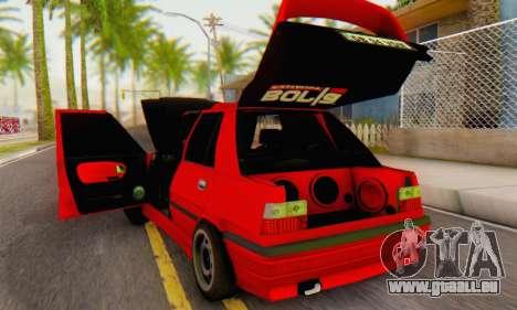 Dacia Super Nova Tuning pour GTA San Andreas vue de droite