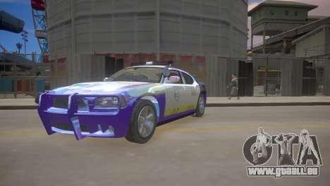 Dodge Charger Kuwait Police 2006 pour GTA 4 est une gauche