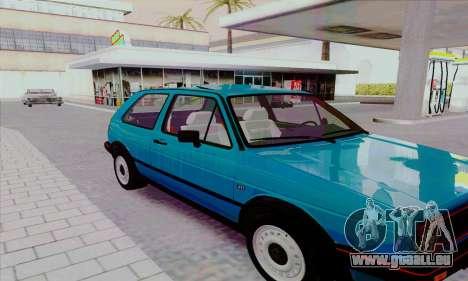 Volkswagen Golf 2 GTi pour GTA San Andreas vue de côté