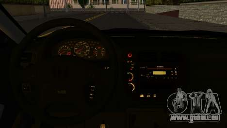 Honda Civic Si 1999 pour GTA San Andreas sur la vue arrière gauche