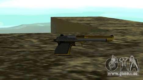 Gold Deagle pour GTA San Andreas