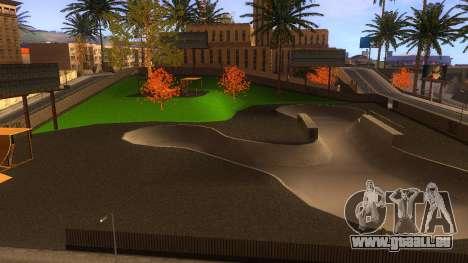 Textures HD skate Park et de l'hôpital V2 pour GTA San Andreas dixième écran