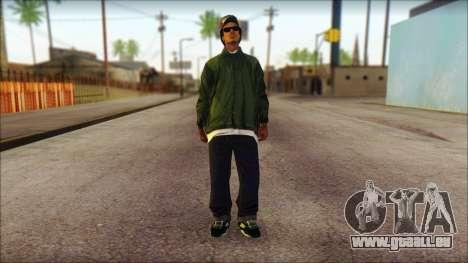 Eazy-E Green Skin v1 für GTA San Andreas