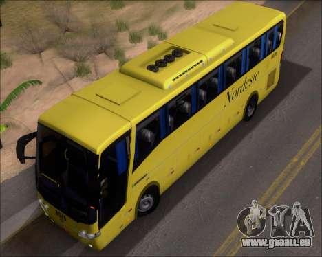 Busscar Elegance 360 Viacao Nordeste 8070 pour GTA San Andreas vue de côté