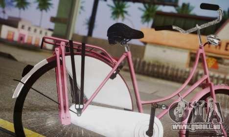 Amsterdam-Bike für GTA San Andreas zurück linke Ansicht