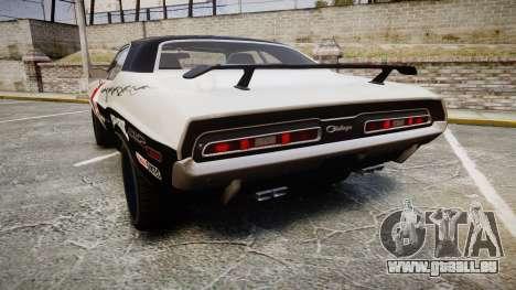 Dodge Challenger 1971 v2.2 PJ5 für GTA 4 hinten links Ansicht