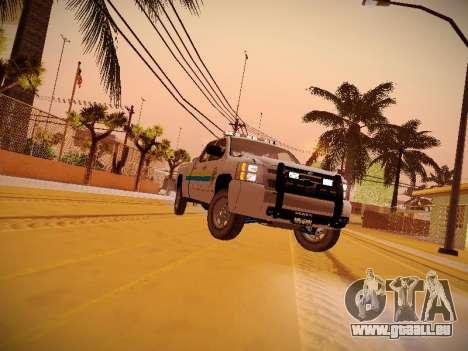 Chevrolet Silverado 2500HD Public Works Truck pour GTA San Andreas