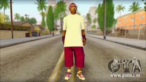 East Side Ballas Skin 1 für GTA San Andreas