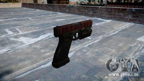 Pistole Glock 20 Kunst des Krieges für GTA 4 Sekunden Bildschirm