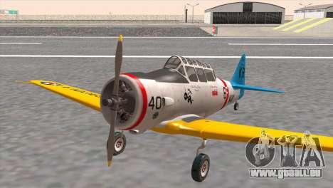 North American T-6 TEXAN N211A für GTA San Andreas
