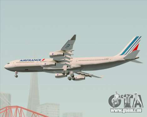 Airbus A340-313 Air France (New Livery) pour GTA San Andreas