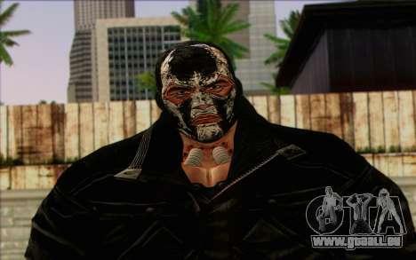 Bane from Batman: Arkham Origins pour GTA San Andreas troisième écran