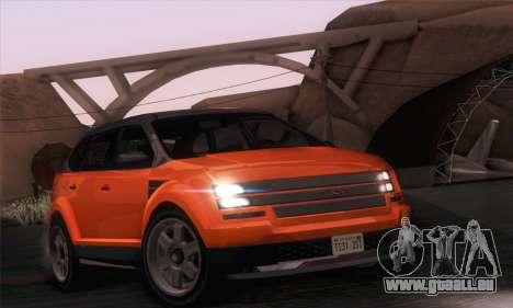Vapid Radius 1.0 (IVF) pour GTA San Andreas