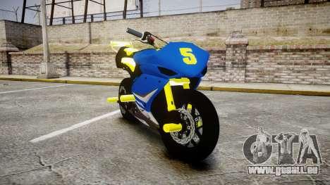 Yamaha R1 2007 Stunt pour GTA 4