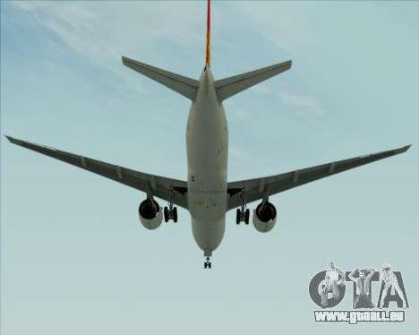 Boeing 777-200ER Air China für GTA San Andreas rechten Ansicht