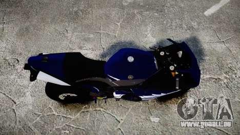 Yamaha YZF-R1 2009 für GTA 4 rechte Ansicht