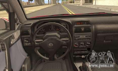 Opel Astra für GTA San Andreas zurück linke Ansicht