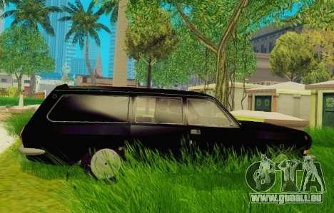 GAZ-24-12 Corbillard pour GTA San Andreas laissé vue