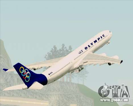 Airbus A340-313 Olympic Airlines pour GTA San Andreas