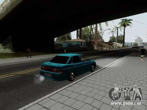 VAZ 2110 für GTA San Andreas linke Ansicht