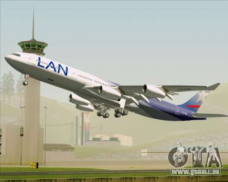 Airbus A340-313 LAN Airlines pour GTA San Andreas salon