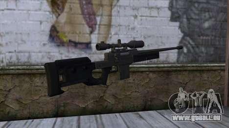 GTA 5 Sniper Rifle für GTA San Andreas zweiten Screenshot