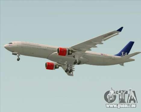 Airbus A330-300 Scandinavian Airlines System. für GTA San Andreas Rückansicht