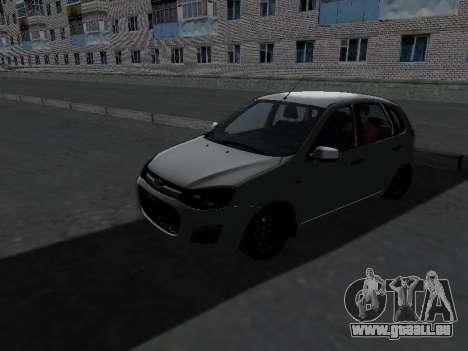 Lada Kalina 2 pour GTA San Andreas laissé vue