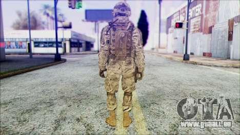 Ranger (CoD: MW2) v1 pour GTA San Andreas deuxième écran