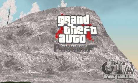 Schnee für GTA Kriminellen Russland beta 2 für GTA San Andreas