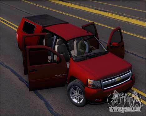 Chevrolet Silverado 2011 pour GTA San Andreas vue de côté