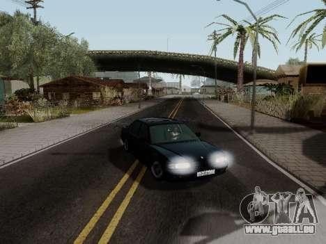BMW 760i E38 pour GTA San Andreas vue intérieure