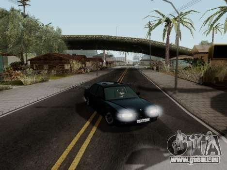 BMW 760i E38 für GTA San Andreas Innenansicht