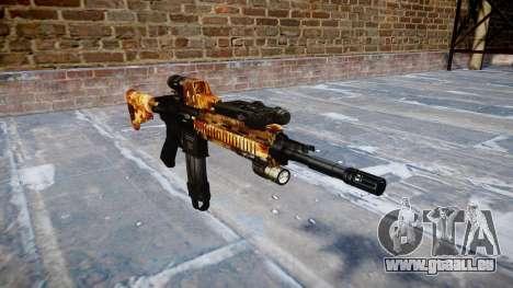 Fusil automatique Colt M4A1 élite pour GTA 4