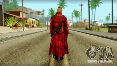 Guardians of the Galaxy Star Lord v2 für GTA San Andreas zweiten Screenshot