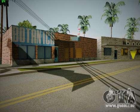 Cassé Binco magasin pour GTA San Andreas deuxième écran