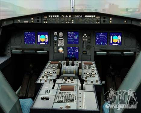 Airbus A330-300 Oman Air für GTA San Andreas Unteransicht
