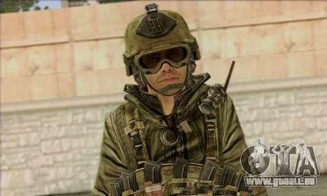 Task Force 141 (CoD: MW 2) Skin 11 pour GTA San Andreas troisième écran