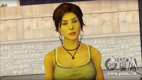 Tomb Raider Skin 11 2013 pour GTA San Andreas troisième écran