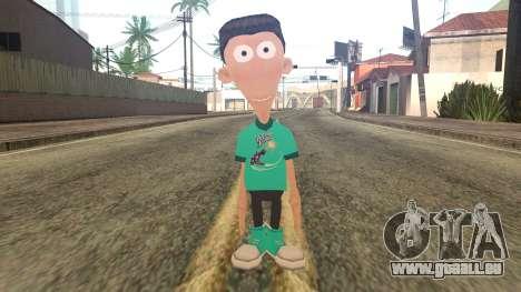 Sheen from Jimmy Neutron pour GTA San Andreas
