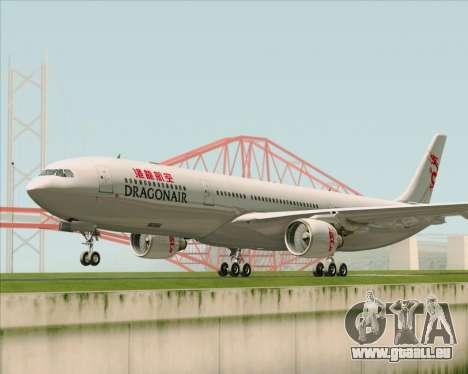 Airbus A330-300 Dragonair pour GTA San Andreas laissé vue