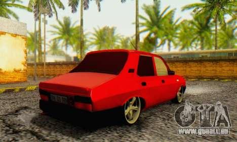 Dacia 1310 TLX PRN v2 pour GTA San Andreas sur la vue arrière gauche