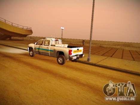Chevrolet Silverado 2500HD Public Works Truck pour GTA San Andreas vue de côté