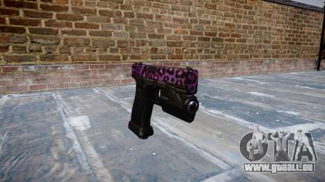 Pistolet Glock 20 party rock pour GTA 4