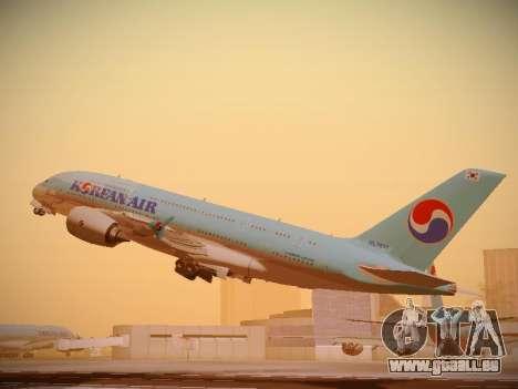 Airbus A380-800 Korean Air pour GTA San Andreas vue de droite